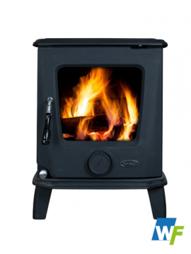 Heritage | Ashford 7.5kW - Black Matt Or Enamel Black