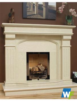 Bridge: Marifil Stone Fireplace