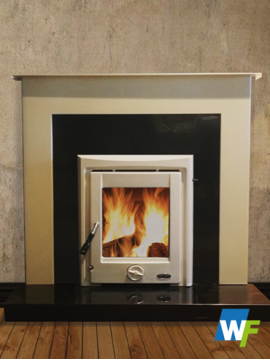 Fermoy: Ivory Pearl Fireplace