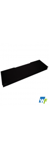 Straight Black Granite Hearth