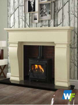 Van Gogh: Ivory Pearl Fireplace