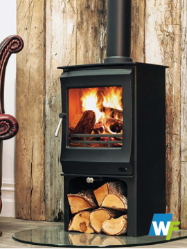 Henley | Elcombe: Room Heater - Matt Black