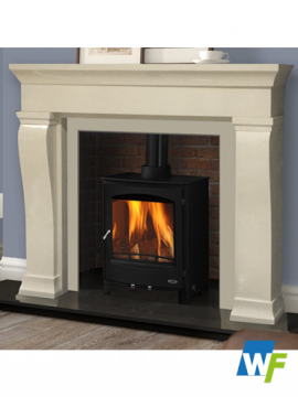 Valley: Ivory Pearl Fireplace