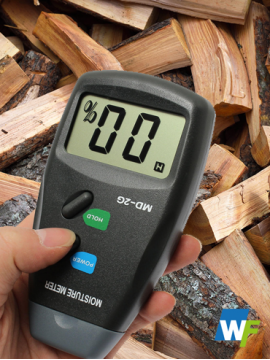 Digital Moisture Meter Wood Firewood Timber Damp Tester